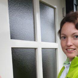 """Betty Moree werkt als Verpleegkundige in Dordrecht. """"De afwisseling in het werk, daar hou ik echt van."""""""